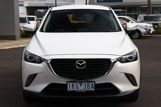 2017 Mazda CX-3 DK2W7A Maxx SKYACTIV-Drive Snowflake White Pearl 6 Speed Sports Automatic Wagon.
