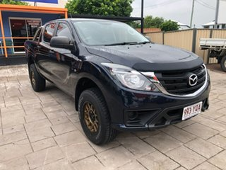 2018 Mazda BT-50 UR0YG1 XT Blue 6 Speed Sports Automatic Utility.
