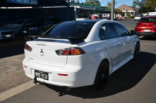 2017 Mitsubishi Lancer CF MY17 Black Edition (es) White 6 Speed CVT Auto Sequential Sedan.