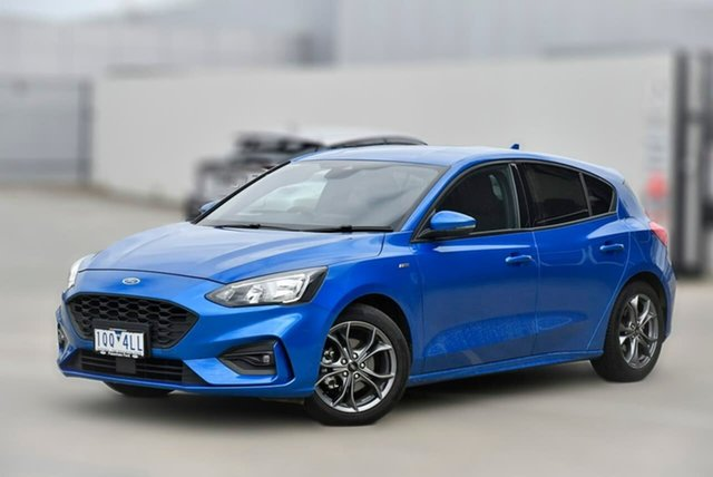Used Ford Focus SA 2019.75MY ST-Line Pakenham, 2019 Ford Focus SA 2019.75MY ST-Line Blue 8 Speed Automatic Hatchback