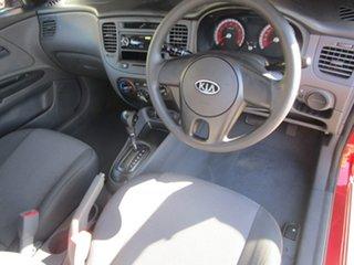 2011 Kia Rio JB MY11 S Red 4 Speed Automatic Hatchback
