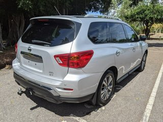 2018 Nissan Pathfinder R52 Series II MY17 ST X-tronic 4WD Silver 1 Speed Constant Variable Wagon