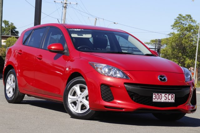 Used Mazda 3 BL10F2 MY13 Neo Activematic Rocklea, 2012 Mazda 3 BL10F2 MY13 Neo Activematic Velocity Red 5 Speed Sports Automatic Hatchback