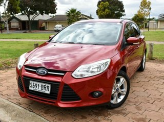 2012 Ford Focus LW Trend PwrShift Red 6 Speed Sports Automatic Dual Clutch Hatchback.