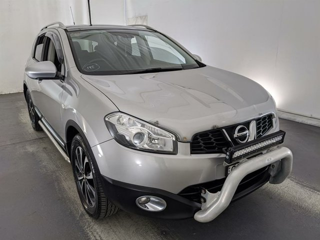 Used Nissan Dualis J10W Series 3 MY12 Ti-L X-tronic AWD Maryville, 2013 Nissan Dualis J10W Series 3 MY12 Ti-L X-tronic AWD Silver 6 Speed Constant Variable Hatchback