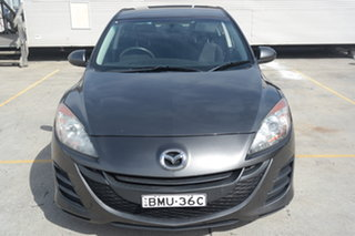 2010 Mazda 3 BL10F1 Neo Grey 6 Speed Manual Sedan.