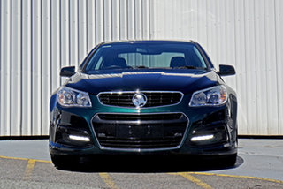 2014 Holden Commodore VF MY14 SV6 Green 6 Speed Manual Sedan.