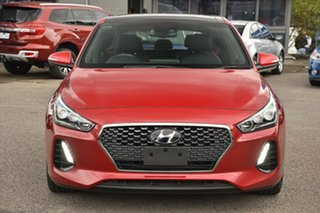 2018 Hyundai i30 PD MY18 SR D-CT Premium Red 7 Speed Sports Automatic Dual Clutch Hatchback.