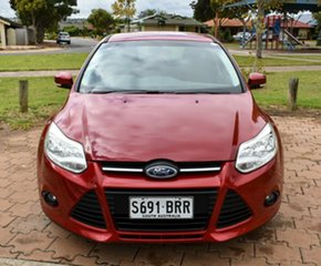 2012 Ford Focus LW Trend PwrShift Red 6 Speed Sports Automatic Dual Clutch Hatchback