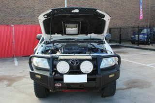 2007 Toyota Hilux KUN26R 06 Upgrade SR (4x4) White 5 Speed Manual Cab Chassis