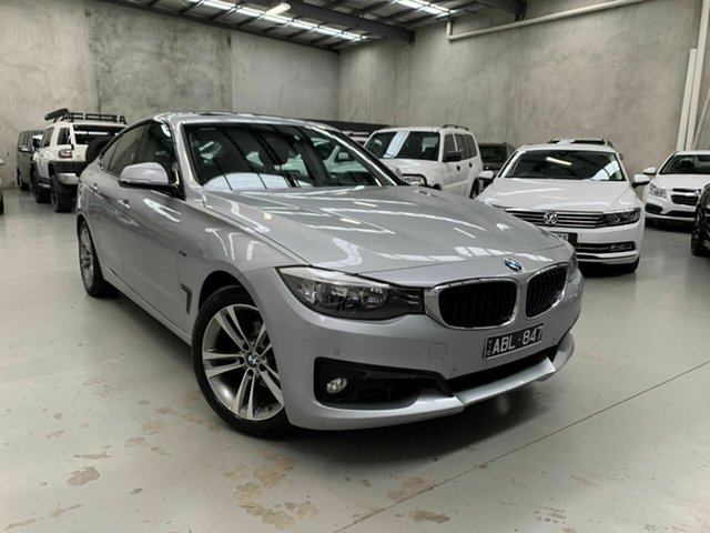Used BMW 3 Series F34 MY1114 320i Gran Turismo Luxury Line Coburg North, 2014 BMW 3 Series F34 MY1114 320i Gran Turismo Luxury Line Silver 8 Speed Sports Automatic Hatchback