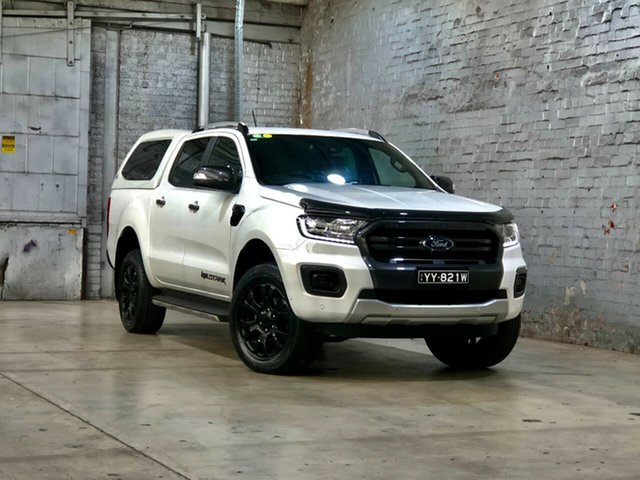 Used Ford Ranger PX MkIII 2019.00MY Wildtrak Mile End South, 2019 Ford Ranger PX MkIII 2019.00MY Wildtrak White 10 Speed Sports Automatic Double Cab Pick Up