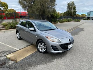 2010 Mazda 3 BL10F1 Maxx Activematic Silver 5 Speed Sports Automatic Hatchback.