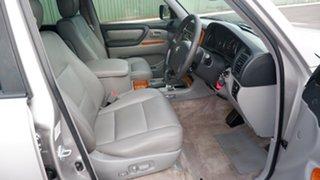 2003 Toyota Landcruiser UZJ100R Sahara Silver 5 Speed Automatic Wagon