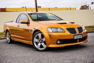 2010 Holden Ute VE MY10 SS V Orange 6 Speed Manual Utility.