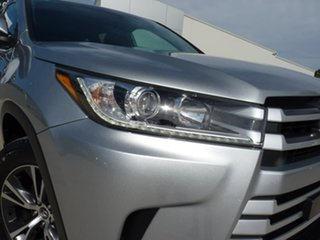 2019 Toyota Kluger GSU55R GX AWD Silver Pearl 8 Speed Sports Automatic Wagon