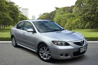 2008 Mazda 3 BK10F2 Maxx Sport Billet Silver 4 Speed Sports Automatic Sedan.