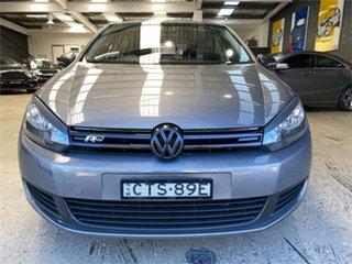 2011 Volkswagen Golf VI 118TSI Comfortline Grey Sports Automatic Dual Clutch Hatchback.