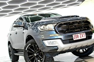 2015 Ford Everest UA Trend Grey 6 Speed Automatic SUV.