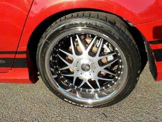 2009 Ford Falcon FG XR8 Red 6 Speed Manual Sedan