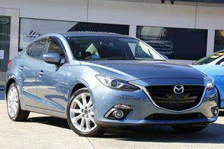 2014 Mazda 3 BM5236 SP25 SKYACTIV-MT GT Blue 6 Speed Manual Sedan.