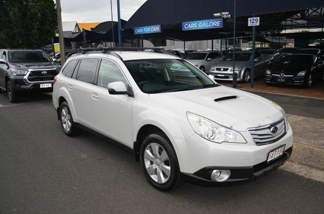 Used Subaru Outback MY12 2.0D AWD Toowoomba, 2012 Subaru Outback MY12 2.0D AWD White 6 Speed Manual Wagon