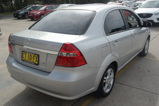 2010 Holden Barina TK MY10 Silver 4 Speed Automatic Sedan