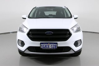 2017 Ford Escape ZG MY18 Ambiente (FWD) White 6 Speed Automatic Wagon.