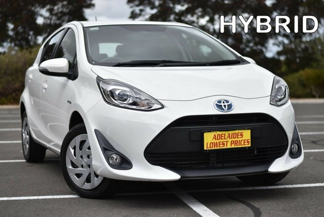 Used Toyota Prius c NHP10R E-CVT Enfield, 2018 Toyota Prius c NHP10R E-CVT White 1 Speed Constant Variable Hatchback Hybrid