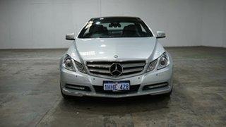 2011 Mercedes-Benz E-Class C207 MY12 E250 CDI BlueEFFICIENCY 7G-Tronic + Avantgarde Iridium Silver