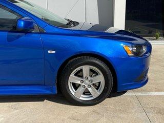 2013 Mitsubishi Lancer CJ MY14 Sport Blue 5 Speed Manual Sedan