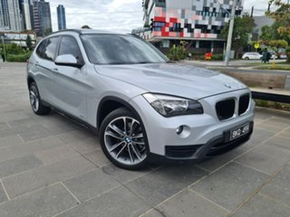 2014 BMW X1 E84 LCI MY1113 sDrive18d Steptronic Silver 8 Speed Sports Automatic Wagon.