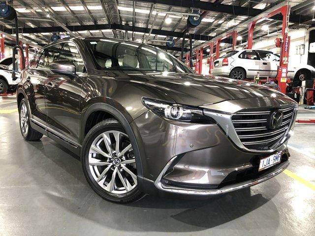 Pre-Owned Mazda CX-9 TC Azami SKYACTIV-Drive Oakleigh, 2017 Mazda CX-9 TC Azami SKYACTIV-Drive Grey 6 Speed Sports Automatic Wagon