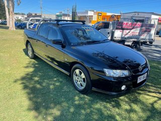 2006 Holden Crewman VZ MY06 S Black 4 Speed Automatic Utility