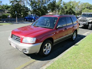 2002 Subaru Forester 79V MY03 XS AWD Red 4 Speed Automatic Wagon