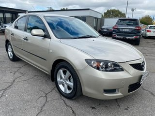 2008 Mazda 3 BK10F2 Neo Champagne 4 Speed Sports Automatic Sedan.
