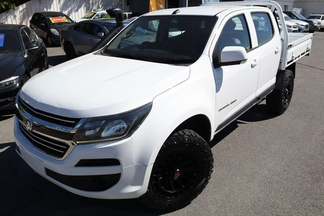 Used Holden Colorado RG MY17 LS Crew Cab Moorooka, 2016 Holden Colorado RG MY17 LS Crew Cab White 6 Speed Sports Automatic Cab Chassis