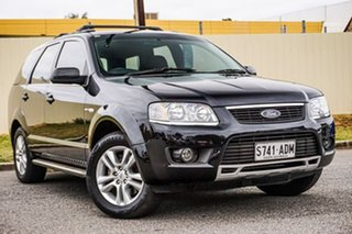 2009 Ford Territory SY MkII TS AWD Black 6 Speed Sports Automatic Wagon.