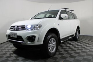 2014 Mitsubishi Challenger PC (KH) MY14 White 5 Speed Sports Automatic Wagon.
