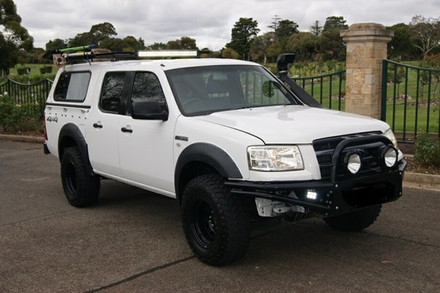 Used Ford Ranger PJ 07 Upgrade XL (4x4) Blair Athol, 2007 Ford Ranger PJ 07 Upgrade XL (4x4) White 5 Speed Manual Dual Cab Pick-up