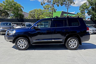 2017 Toyota Landcruiser VDJ200R Sahara Blue 6 Speed Sports Automatic Wagon