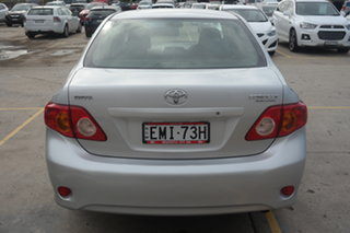 2007 Toyota Corolla ZRE152R Ascent Silver 4 Speed Automatic Sedan
