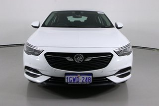 2019 Holden Commodore ZB MY19.5 LT White 9 Speed Automatic Liftback.