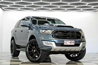 2015 Ford Everest UA Trend Blue 6 Speed Automatic SUV.