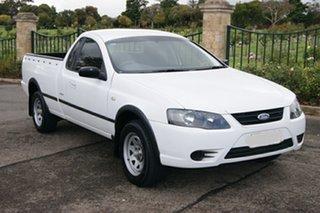 2008 Ford Falcon BF MkII RTV (LPG) White 4 Speed Auto Seq Sportshift Utility.