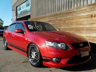 2009 Ford Falcon FG XR8 Red 6 Speed Manual Sedan.