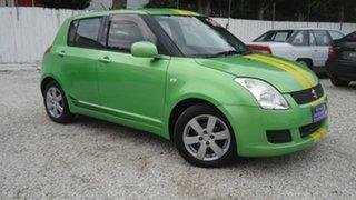 2010 Suzuki Swift RS415 Beat Green 5 Speed Manual Hatchback.