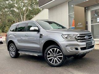 2019 Ford Everest UA II 2019.00MY Titanium Silver 10 Speed Sports Automatic SUV.