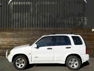 2001 Suzuki Grand Vitara SQ625 S2 Sport White 5 Speed Manual Wagon