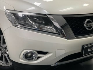2016 Nissan Pathfinder R52 MY16 ST X-tronic 2WD Ivory Pearl 1 Speed Constant Variable Wagon.